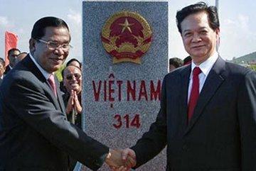 Việt Nam-Campuchia quyết không để vấn đề biên giới lan rộng