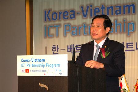 Bộ trưởng Nguyễn Bắc Son, Hàn Quốc, Nhật Bản, công nghệ