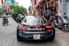 BMW i8 của thiếu gia Sài thành lần đầu xuống phố