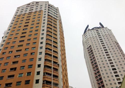 Chung cư không thang máy: Phí 450 đồng/m2