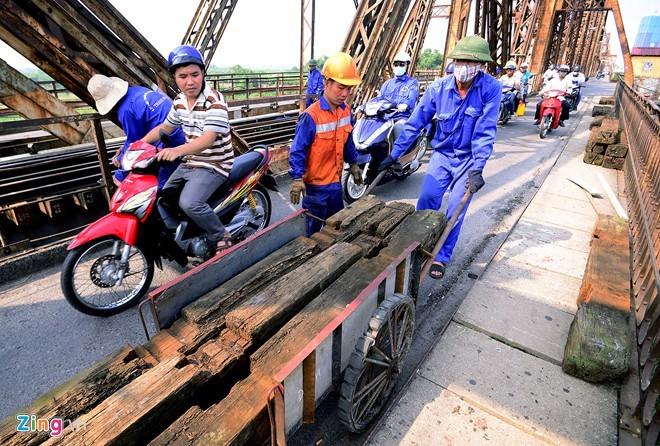 Cầu Long Biên, đại tu, lớn nhất