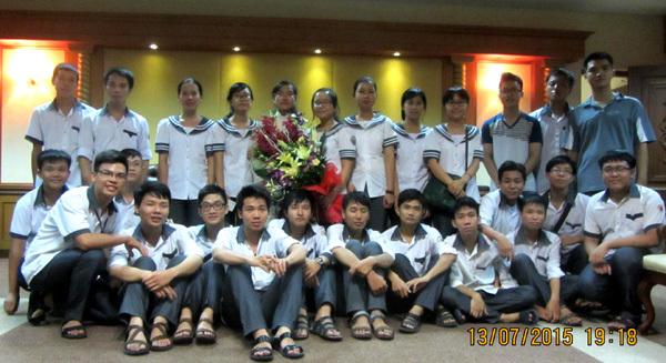 Olympic Vật lý quốc tế, Đinh Thị Hương Thảo, THPT Chuyên Lê Hồng Phong