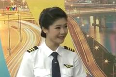 Gặp nữ cơ trưởng xinh đẹp của Vietnam Airlines