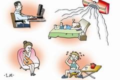 2 hệ cơ quan trong cơ thể cần được chăm sóc nhất khi ngồi điều hòa