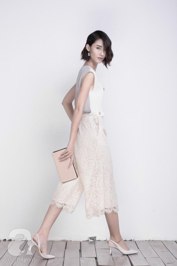 4 gợi ý chọn áo cho quần culottes cực chuẩn của các quý cô Việt