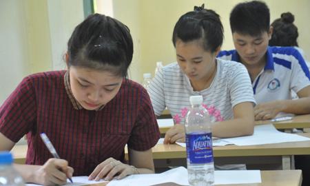 địa phương, cụm thi, đầu tiên, điểm thi, THPT quốc gia