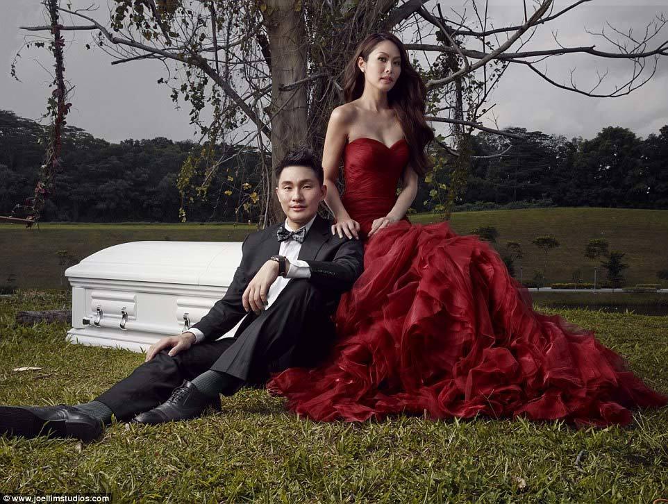 ảnh cưới, quan tài, Singapore