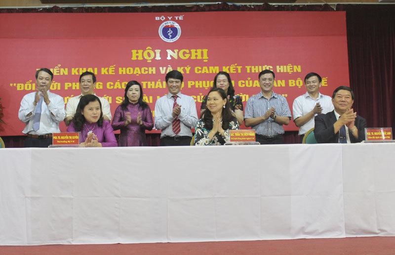 4 bệnh viện lớn ký cam kết làm hài lòng bệnh nhân