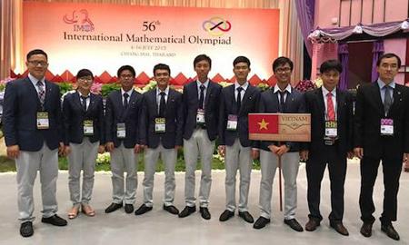 toán quốc tế; Huy chương vàng