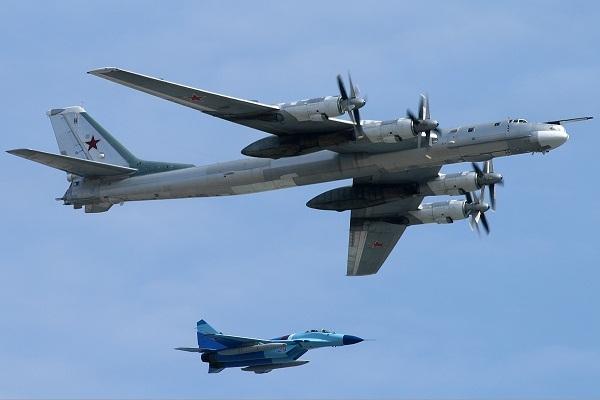 Tu-95, máy bay ném bom chiến lược, Không quân Nga