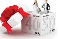 50 triệu để cưới vợ là đắt hay rẻ?