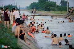 'Bãi tắm' miễn phí dài hàng km ở ngay Hà Nội