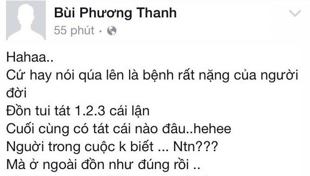 Phương Thanh lên tiếng việc đánh ghen hộ và tát Hà Hồ