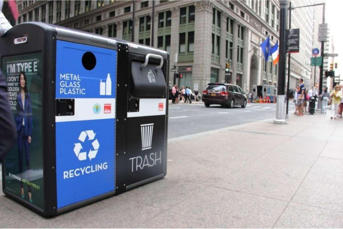 Mỹ biến thùng rác thành trạm phát WiFi miễn phí - 1