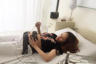 Khánh Thi nhập viện vì đã vỡ ối
