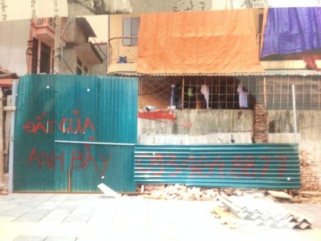 Bức tường được rao bán 1 tỷ đồng trở thành chuyện lạ tại Hà Nội