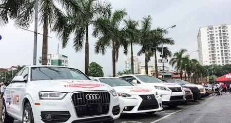 Lần đầu tiên có chợ bán ôtô ngoài trời ở Hà Nội