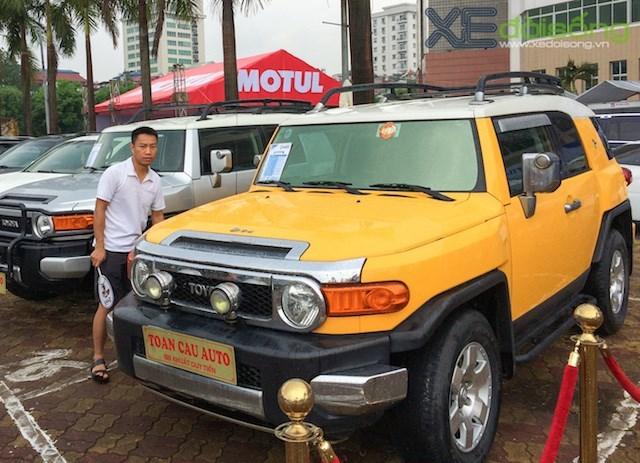 chợ bán ôtô, ngoài trời, Hà Nội