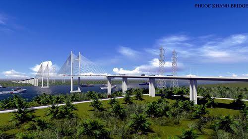 Xây cầu dây văng cao nhất VN nối TPHCM và Đồng Nai - 1