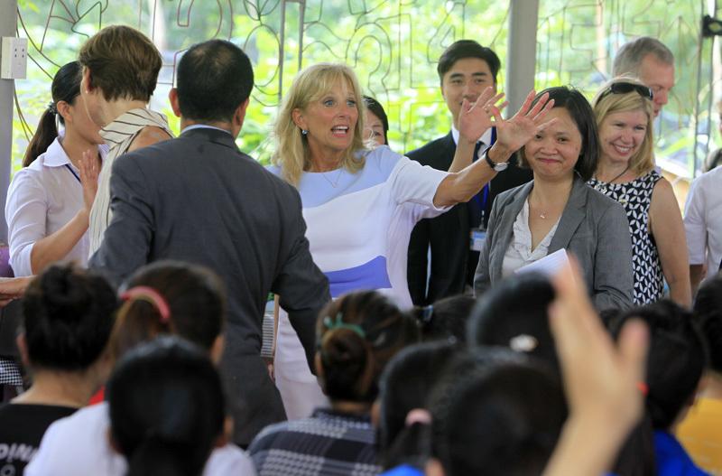 Jill Biden, Mai Thị Hạnh, Mỹ, phu nhân chủ tịch nước, Biden