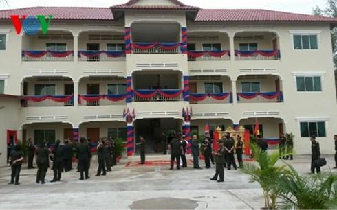 Quân khu 7 hợp tác với Lữ đoàn phản ứng nhanh Campuchia