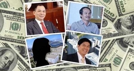 Đại gia Việt 'lộ' khối tài sản ngầm ngàn tỷ