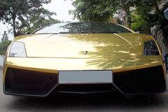 Siêu xe Lamborghini Gallardo vàng bóng duy nhất tại Hà Nội
