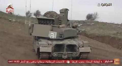 xe tăng, Israel