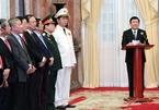 Hai Trung tướng được thăng hàm Thượng tướng
