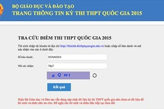 """Cuộc """"tấn công"""" DDOS tự phát vào website tra điểm thi"""
