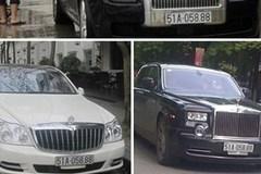 Bốn ôtô sang tiền tỷ dùng chung biển số 88.888