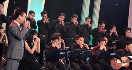 Tiếng kèn Harmonica Việt lần đầu đến với Festival Quốc tế