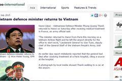 DPA thừa nhận 'thông tin sai' về Bộ trưởng Phùng Quang Thanh