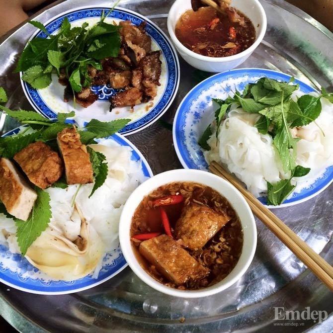 quà chiều, quà vặt, ẩm thực Hà Nội