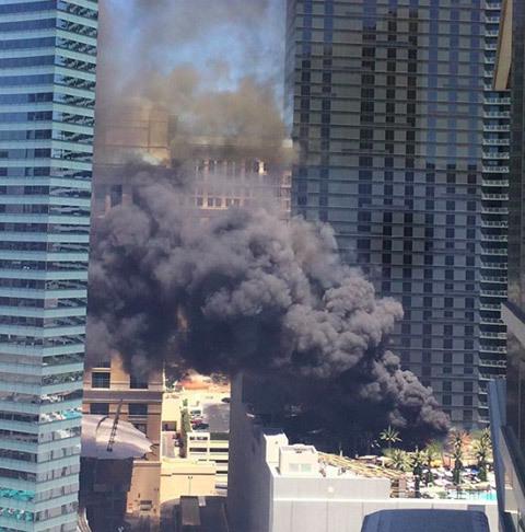 Hỏa hoạn ngay giữa kinh đô bài bạc thế giới