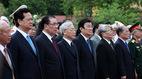 Lãnh đạo Đảng, Nhà nước dâng hương tưởng niệm liệt sỹ