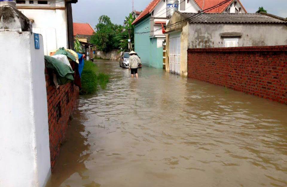 Quảng Ninh ngập nặng sau trận mưa lịch sử