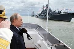 Lo NATO mở rộng, Nga xem lại học thuyết hải quân