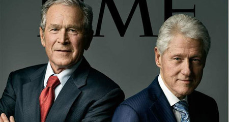 Bill Clinton và George W. Bush nói gì về bầu cử 2016?