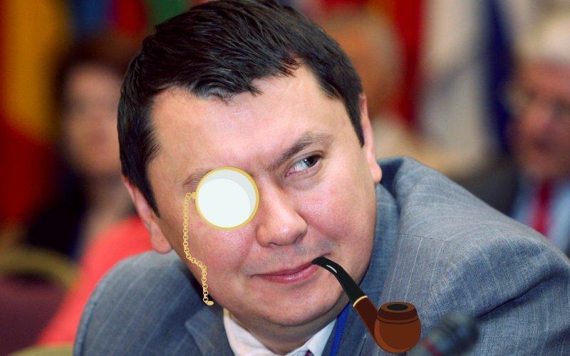 Sherlock Holmes, Kazakhstan, KGB, tình báo