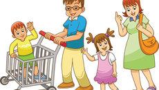 Làm thế nào khi con khóc thét trong siêu thị?