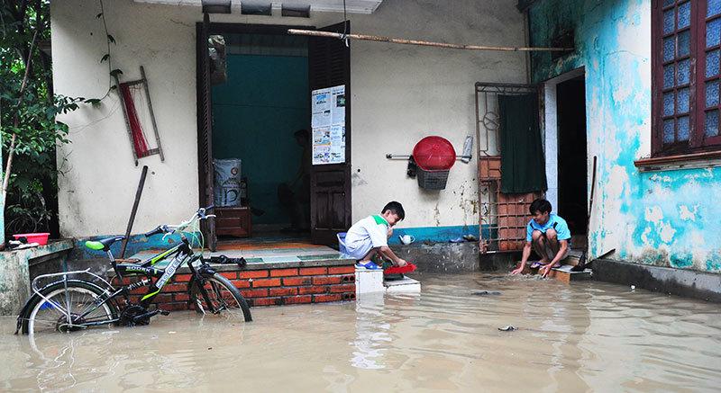 Quảng Ninh tiếp tục mưa rất to