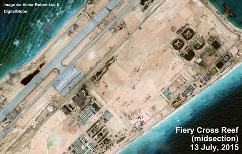Đảo nhân tạo phi pháp TQ làm ở Biển Đông ra sao?