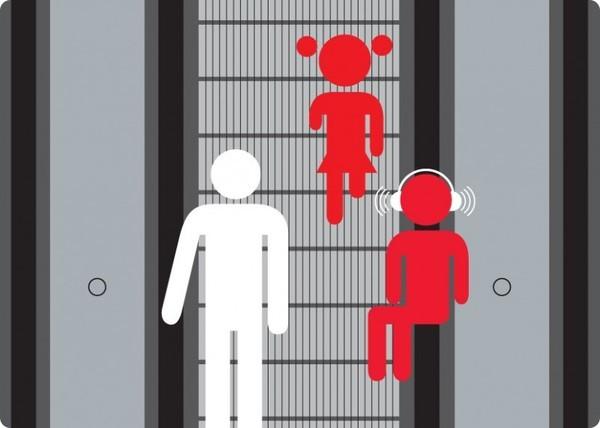 Cách đi thang cuốn an toàn 'nhất định bạn phải biết'