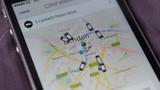 """Uber bị tố tạo ra các """"bóng ma"""" taxi trên bản đồ của khách hàng"""