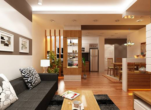 Cách phối màu ngôi nhà theo không gian sống