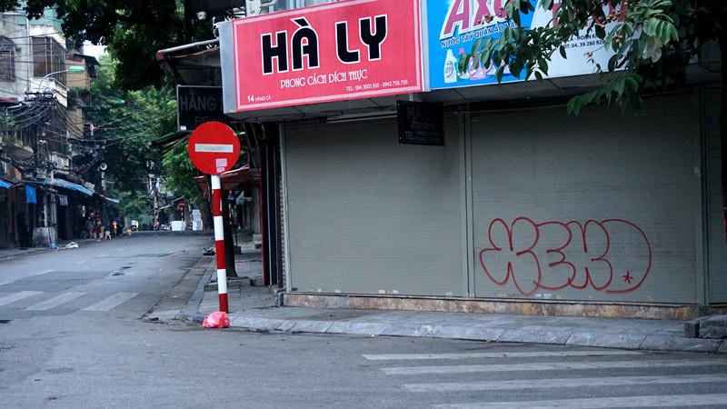 Tranh đường phố, tranh tường, graffiti, phố cổ, Hà Nội, Thủ đô