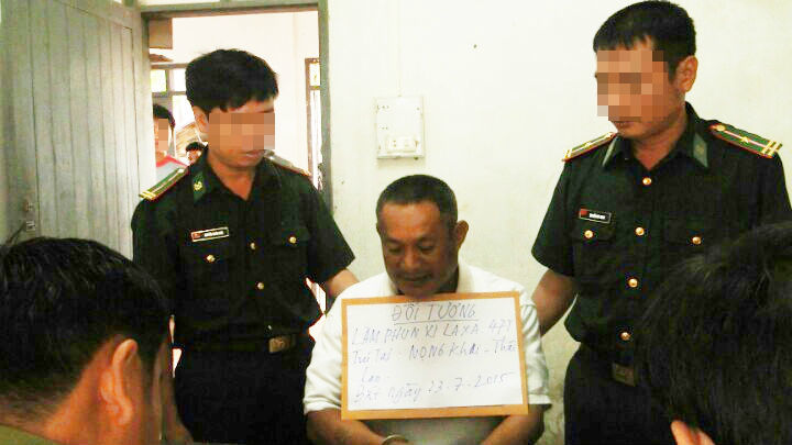 người Thái, cất vó, ma túy, trinh sát