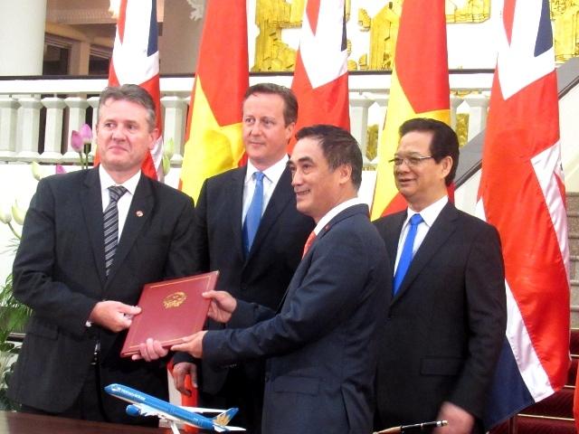 Thủ tướng, Nguyễn Tấn Dũng, David Cameron
