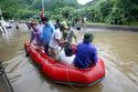 Cảnh hiếm thấy trên quốc lộ ở Quảng Ninh sau lũ lịch sử